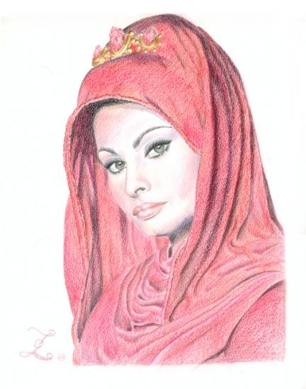 Sophia Loren by Olivier_Lerousseau